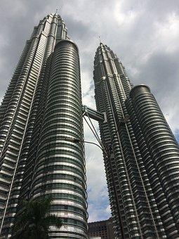 Petronas Towers, Kuala Lumpur, Skyscraper, Malaysia