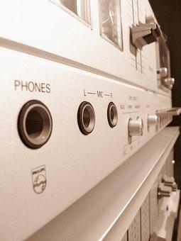 Sound Studio, Tape Deck, Technology, Band