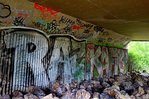 Graffiti, Wall, Street, Urban, Paint, Spray, Culture