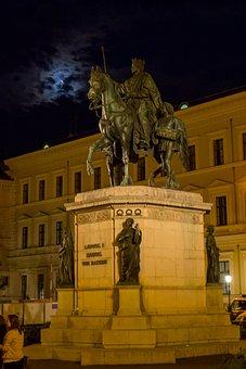 Reiter, Statue, Munich, Equestrian Statue, Horse