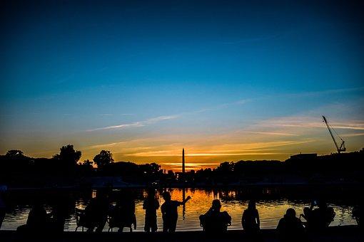 France, Paris, Sunset, Tourist Destination, Travel