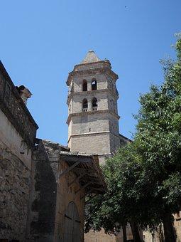 Tower, Steeple, Mediterranean, Church, Building, Great