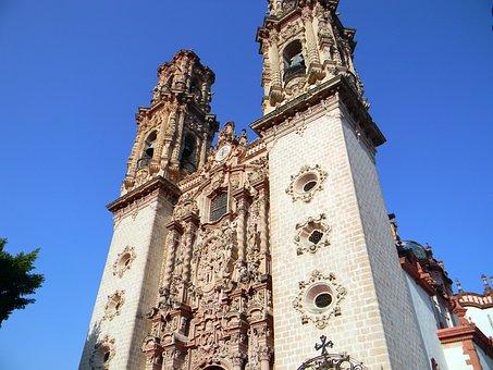 View, Town, Travel, Architecture, Tourism, Mexico