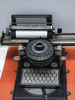 Machine, Typewriter, Print, Font, Letters, Writing