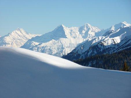 Eiger North Face, Monk, Virgin, Switzerland, Alpine