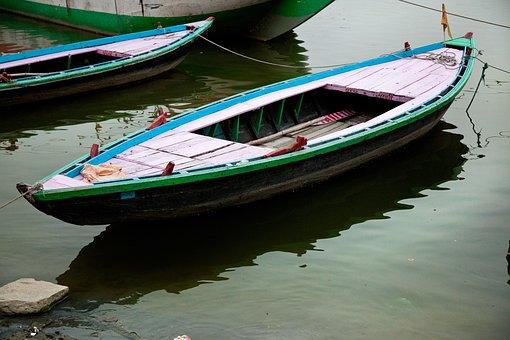 Boat, India, Ganji, Tourism, Fishing, Water