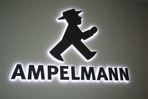 Traffic Light Man, Berlin, Males, Hutmännchen, Ddr