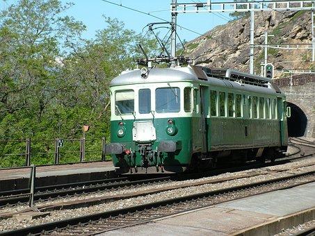 Railway, Railcar, Historically, Switzerland, Bls
