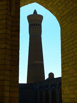 Bukhara, Mosque, Minaret, Kalon Minaret