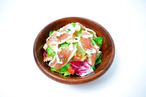 Lettuce, White Back, Food, Caesar Salad, Salad