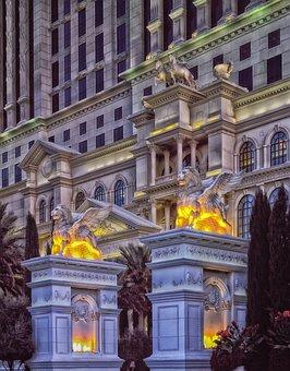 Caesar's Palace, Las Vegas, Nevada, City, Cities, Hotel