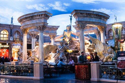 Las Vegas, Caesars Palace Forum, Architecture, Nevada