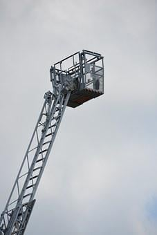 Ladder, Fire, Rescue, Fire Escape, Head Of Rescue, Cart