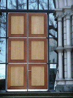 Architecture, Input, Door, Wood, Columnar, Church