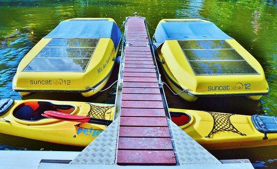 Sport Boat, Solar Boat, Electric Boat, Solar Drive