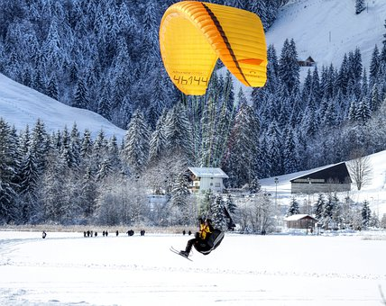 Paraglider, Paragliding, Air Sports, Sport, Fly, Sky