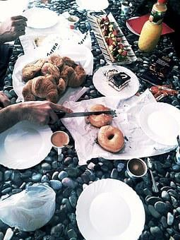 Eat, Food, Party, Breakfast, Pastries, Donut, Pie
