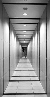 Hallway, Perspective, Tunnel, Architecture, Corridor