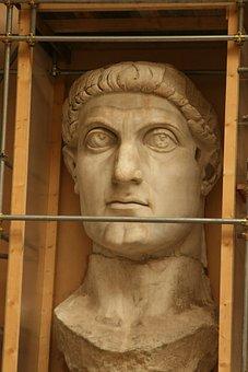 Gaius Iulius Caesar, Bust, Rome, Italy, History