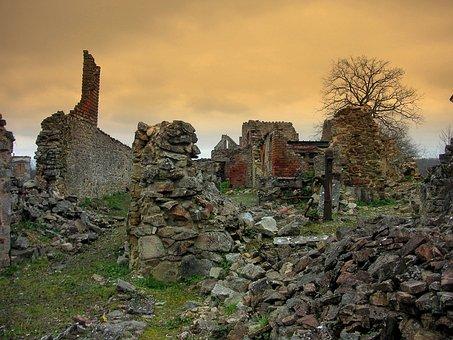 Oradour Sur Glane, Martyr Village, Ww2, Atrocity