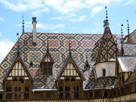 Beaune, France, Burgundy, Middle Ages, Hospice