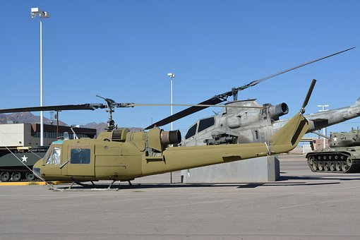 Ww2, Aircraft, Huey, Helicopter, Military, Museum, Air