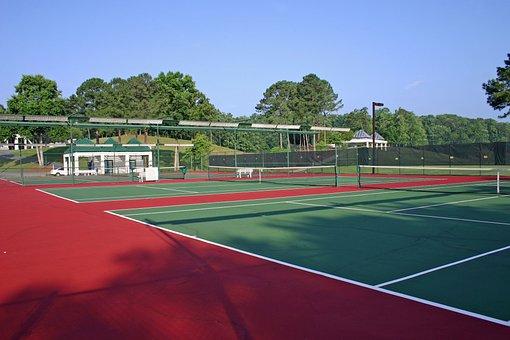 Georgia, Tennis Court, Court, Racket, Sport, Tennis