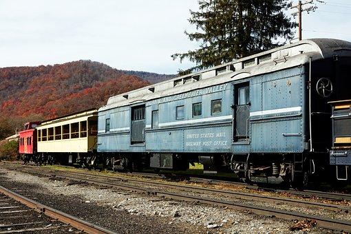 Railroad, Railway, Travel, Transportation, Vintage
