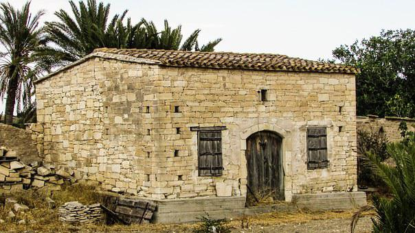 Storehouse, Stone Built, Architecture, Traditional