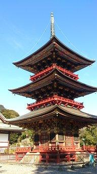 Naritasan, Three-story Pagoda, Building