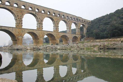 Pont Du Gard, Aqueduct, Viaduct, Releases, Paris