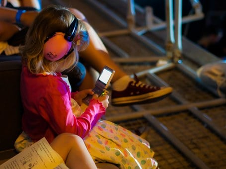 Festival, Hearing Protection, Video Game, Game Boy