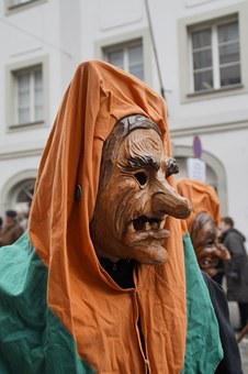 The Witch, Witch Mask, Strassenfasnet, Fools Jump