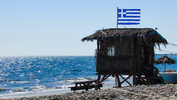 Hut, Rough, Beach, Hippie, Freedom, Autumn, Cyprus
