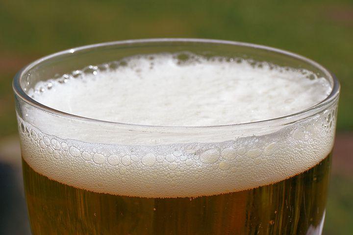 Beer, Beer Glass, Foam, Beer Foam, Beer Crown, Drink