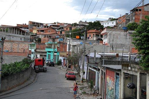 Brazil, Carapicuíba, Favela, Community