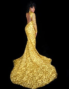 Prom, Dress, Fashion, Girl, Female, Young, Woman