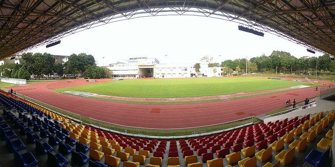 Stadium, Track, Running, Sport, Field, Race