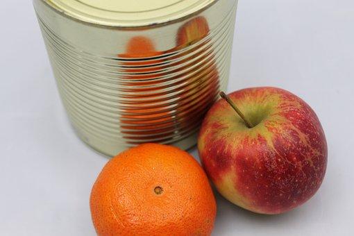 Apple, Mandarin, Fruit, Fruits, Healthy, Vitamins