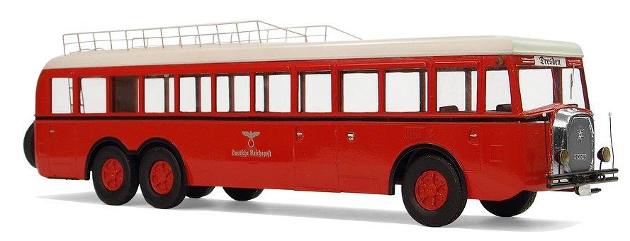 Henschel, Type 35h 3n, Postal Buses, 30ziger Years
