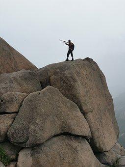 Vacation, Climbing, Bukhansan Mountain, Rock, Hiking