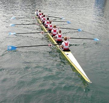 Rowing, Lucerne, Reuss Sprint, Rowing Race, Reuss