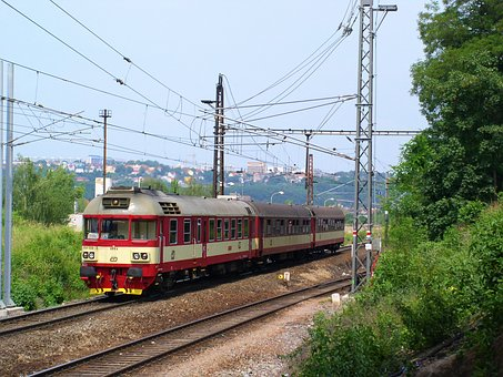 Train, Railway, The Contact Line, Travel, Motorák