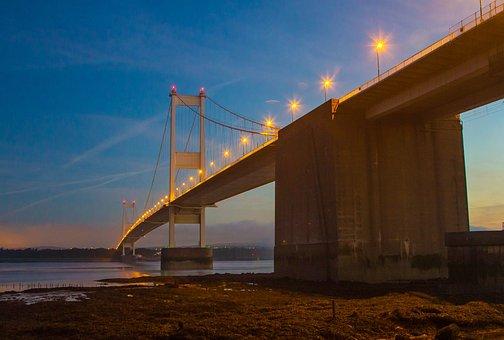 Severn Bridge, In The Morning, Light, Bristol