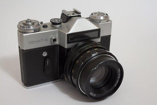 Camera, Zenith, Soviet, Slr Camera