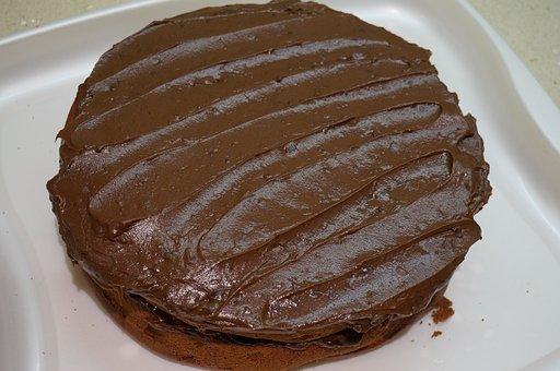 Chocolate, Cake, Home-made, Sweet, Food, Desert