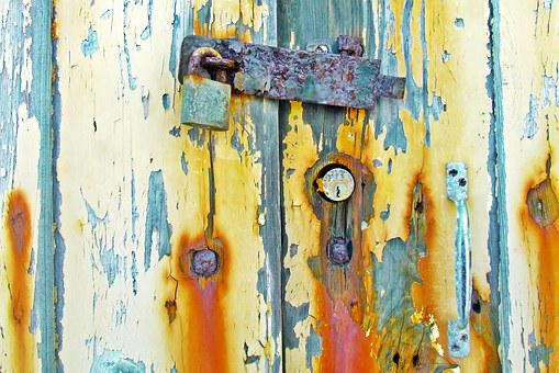 Background, Abstract, Lock, Padlock, Rusty, Security