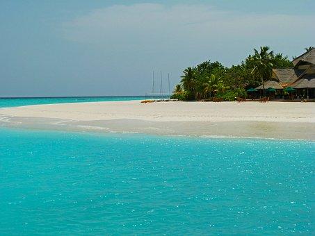 Maldives, Ocean, Sea, Island, Beautiful, Resort, Beach