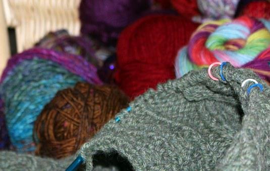 Wool, Aran Knitting, Cable, Markers, Yarn, Sweater