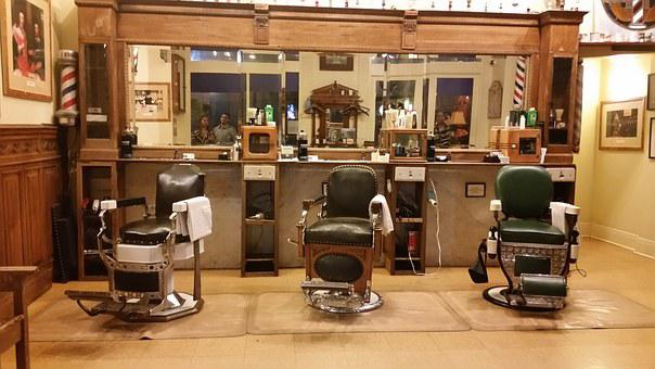 Barbershop, Old Time, Chairs